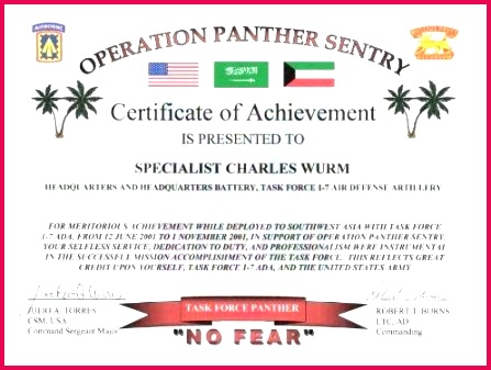 army appreciation certificate template for good performance new award certificate template army fresh army certificate army appreciation certificate template for good performance new army training cer