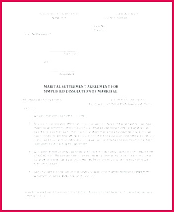 legal separation agreement template marriage australia