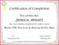 4 Award Certificate for Completion Of Course Templates