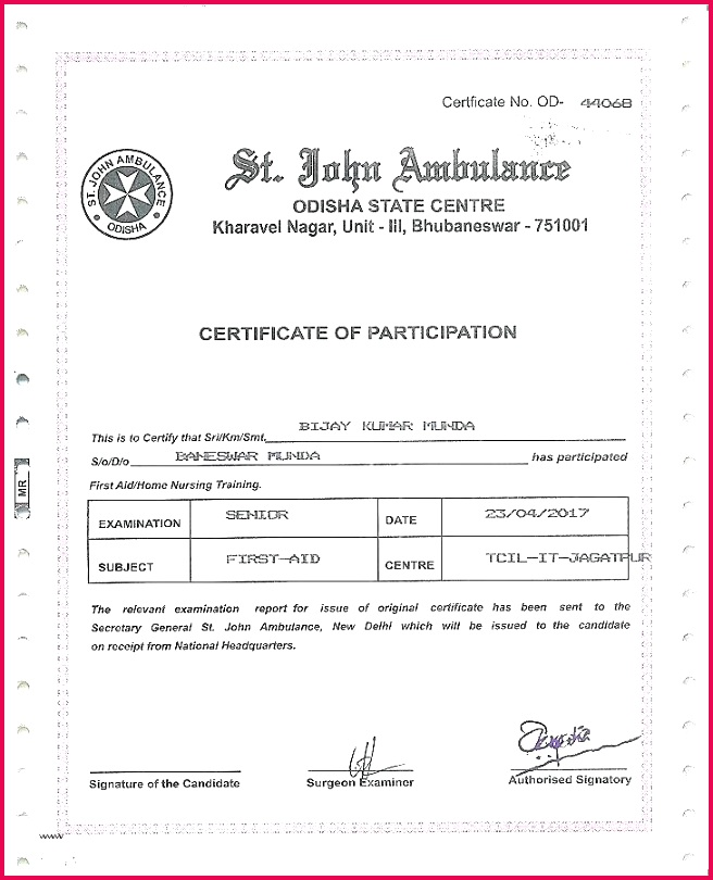 Best Perfect Attendance Certificate Template Beautiful Free Training Word Format Award Synonym Deutsch Customize Attendan