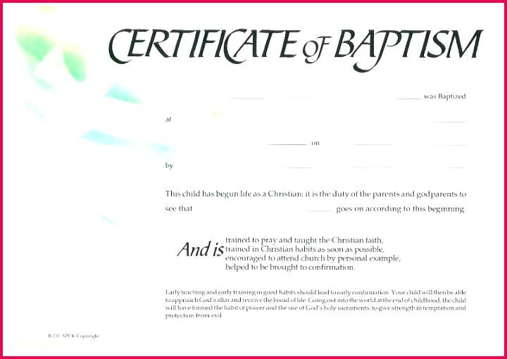 christian baptism certificate template baptismal c array