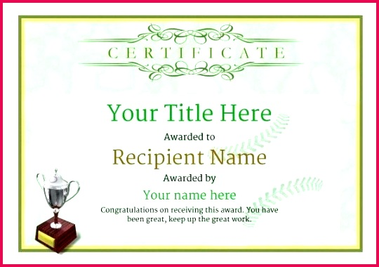 use free baseball certificate templates by award template word printable