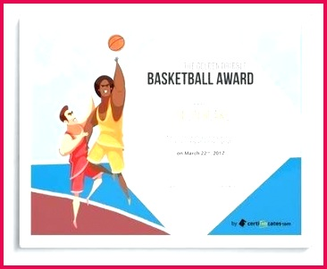 free basketball award certificate sports template printable templates certificates