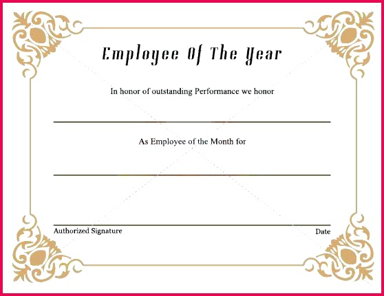 best employee award certificate templates template font for certificates used awar