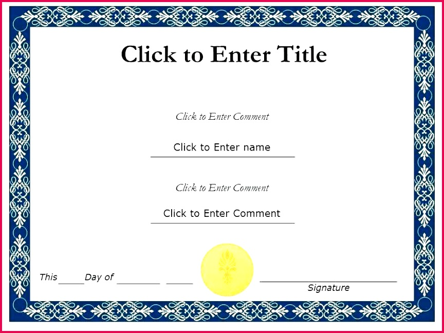 Certificate Templates Free Download Beneficial Award Template Maker Editable Aw
