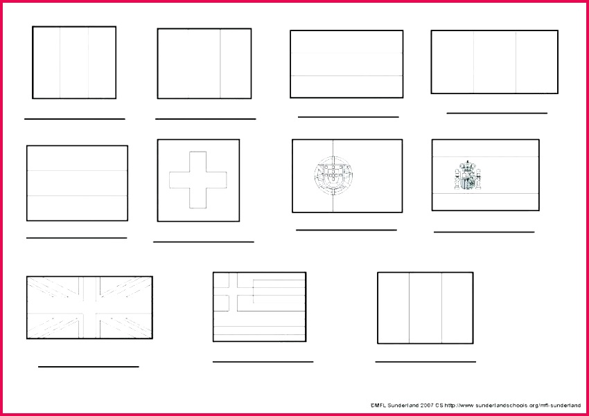 smart idea blank flags to color printable flag of coloring page pages free clip art world template twinkl