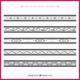 ornamental certificate border collection 23