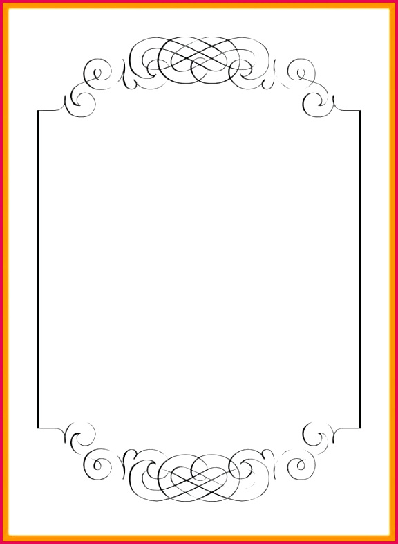 menu border template efficient primary portrait with medium image blank templates award certificate creative include