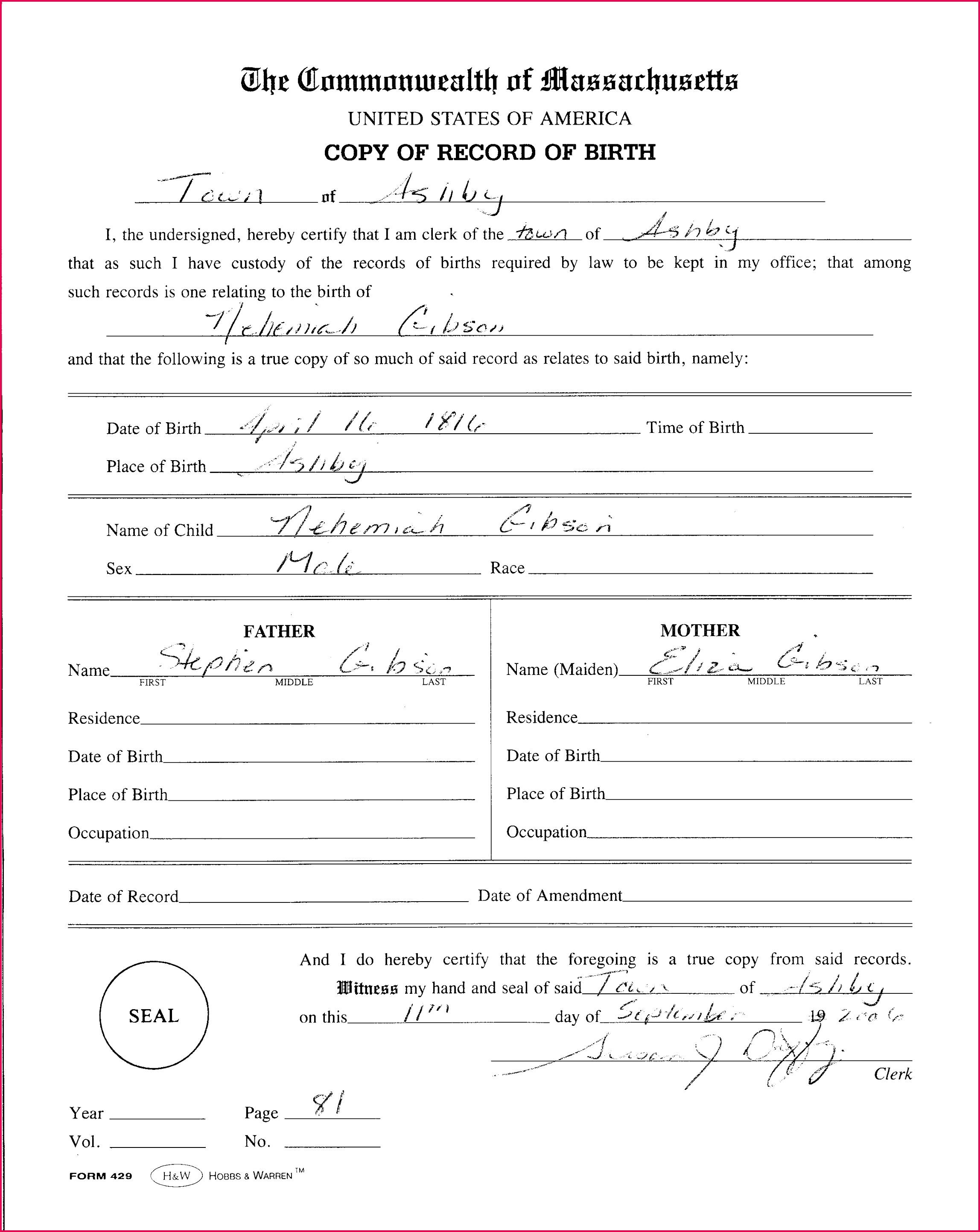 certificate template fresh blank birth certificate template certificate template best collection of certificate template