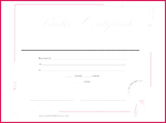 birth certificate templates word template lab free blank birthday t voucher plain