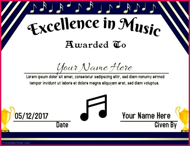 music award customize template printable certificates