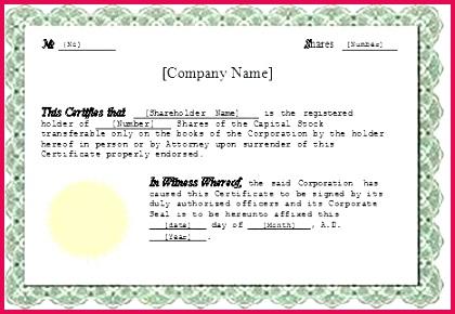 shareholder certificate template awesome shareholders blank share certificates free uk sto
