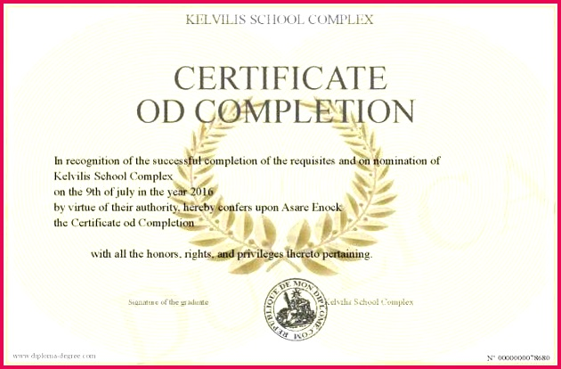 pletion certificate template certificate od pletion rehab new