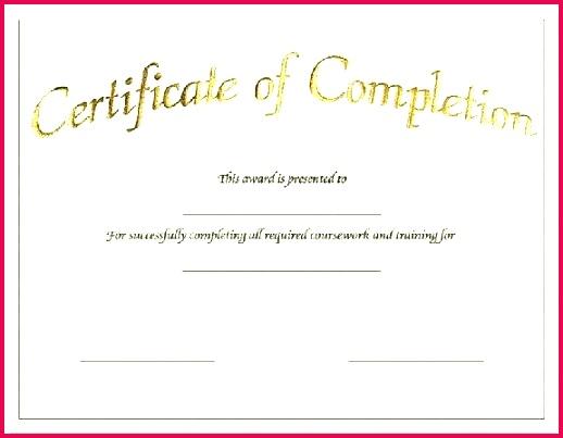 certificate template word doc best of templates blank certificates successful appreciation d