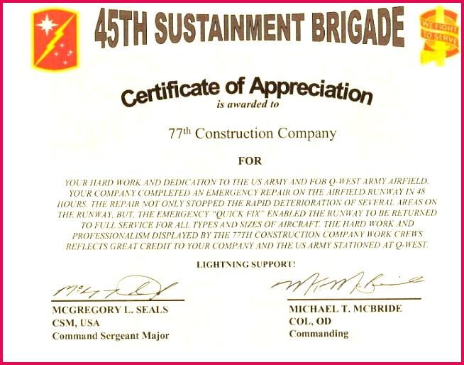 Certificate Appreciation Template Free Sample Certificate Appreciation Template Free Download Unique 25 Certificate Appreciation Template