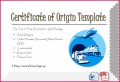 5 Cafta Certificate Of origin form Download