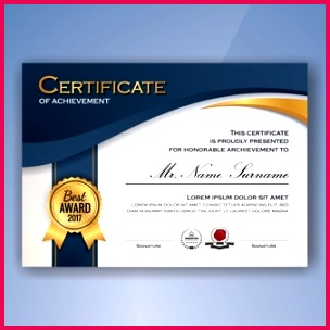 certificate achievement template 1198 354