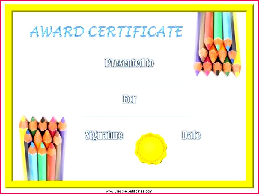 Free printable children s certificates Most of the kids certificate templates can be customized online before they are printed Many designs available