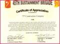 6 Certificate Of Appreciation Template Army