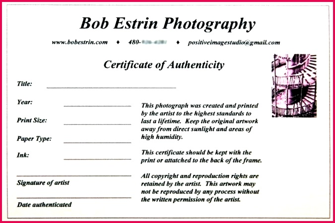 limited edition print certificate of authenticity template intended for word microsoft stock printable free blank templates