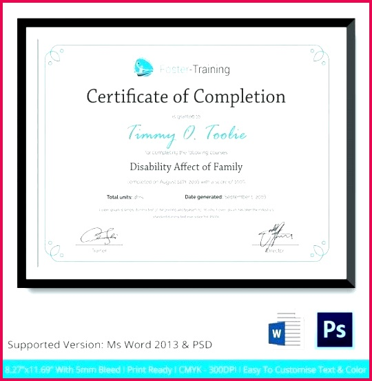 free training certificate templates for word course sample new template in ms pletion practical templ
