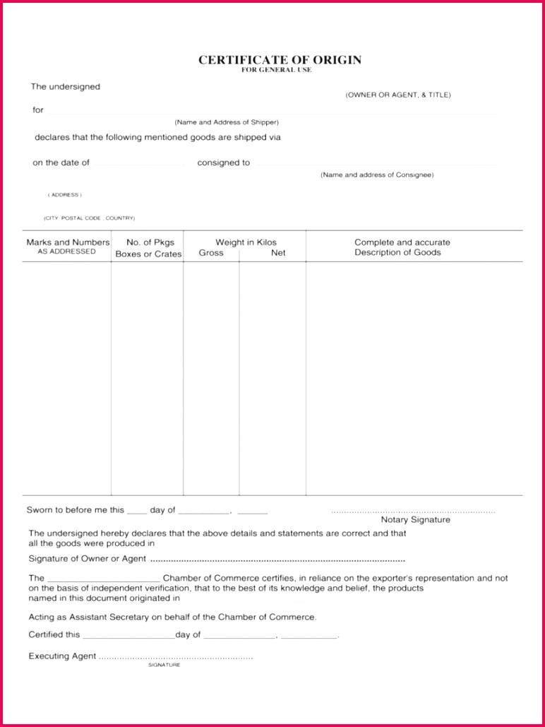 009 certificate of origin template ideas 858x1144