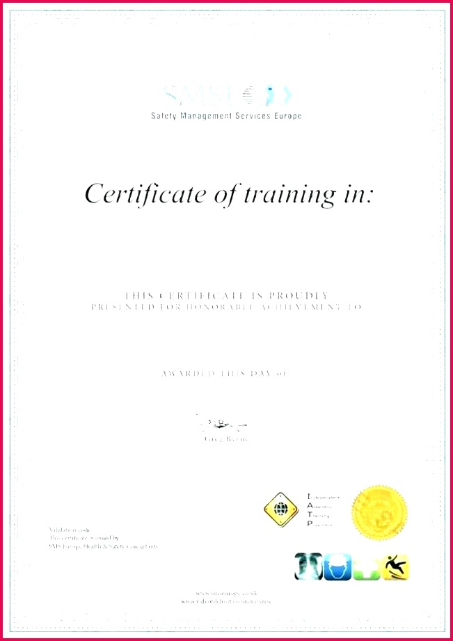 safety training certificate template images of employee award fire templates free course pletion pdf