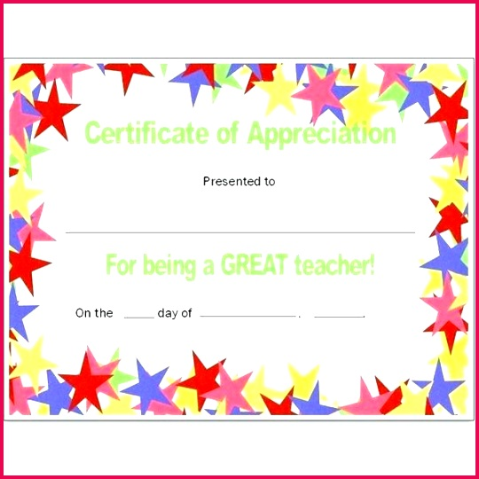 best teacher certificate templates free appreciation certificates word and publisher ideas award template of the month