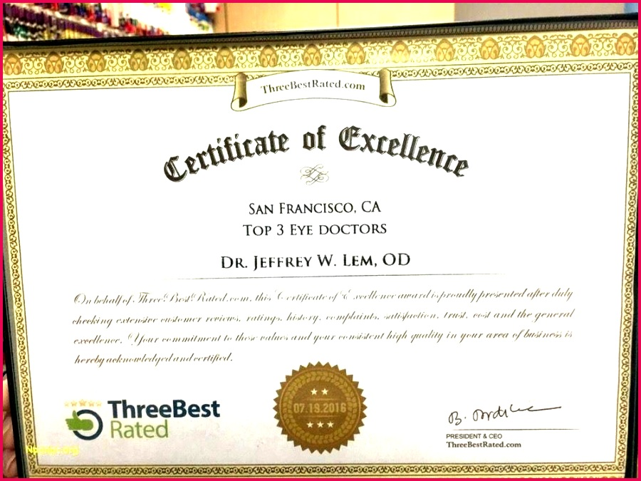 academic award certificate template free ppt excellence sample and