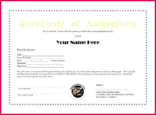 jewelry certificate of authenticity template beautiful letter best authe