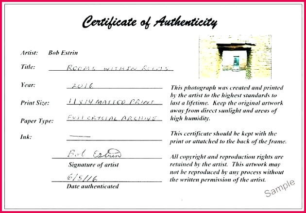 signature certificate of authenticity template photography exp letter authenticit
