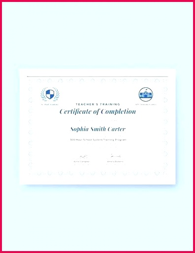 pletion certificate examples templates in word pages teachers training template of free printable final