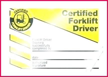 wallet card forklift industrial truck safety signs template free medical training tem