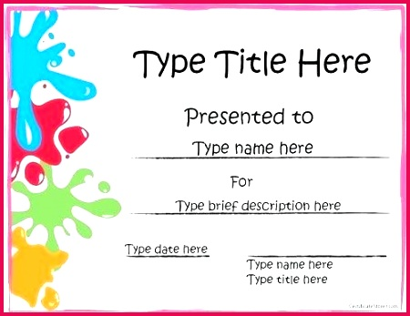 winner certificate template free awesome chili cook off award