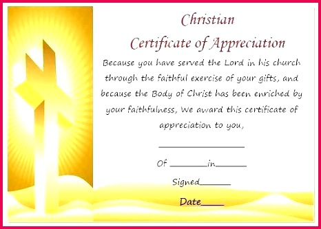christian certificate appreciation template of membership wording templates free members powerpoint downlo