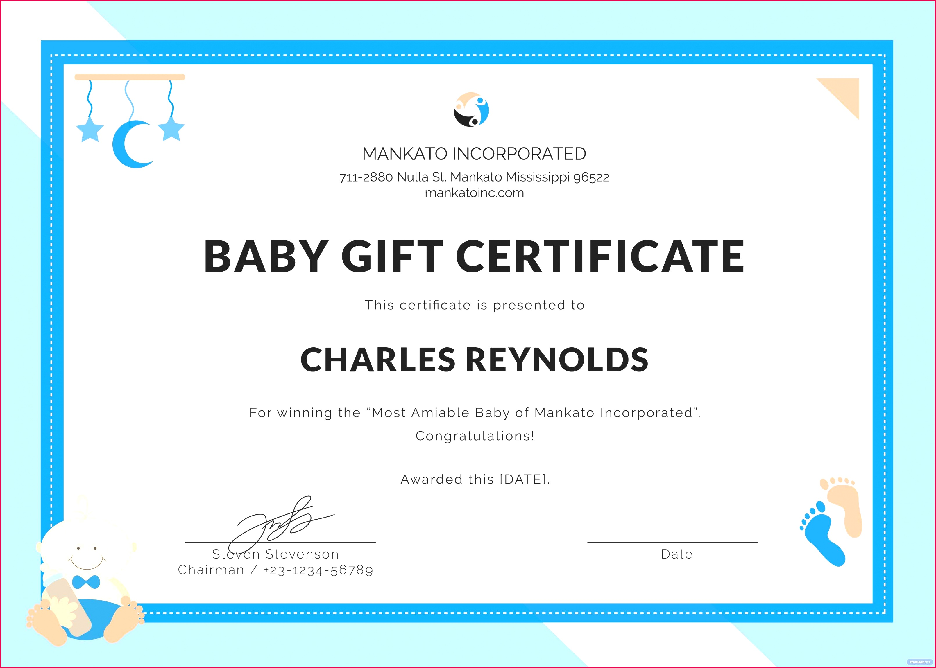 free t certificate template for mac lovely free baby t certificate template in psd ms word of free t certificate template for mac