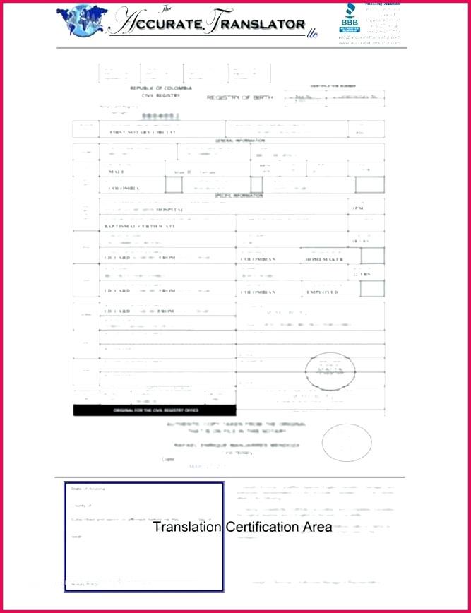 birth certificate translation template impressive sample birth certificate certificate design birth certificate translation template impressive sample mexican marriage certificate translation template