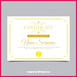 certificate border with ornamentation 23