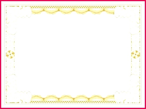 blank certificate borders templates with printable images of certificates template free
