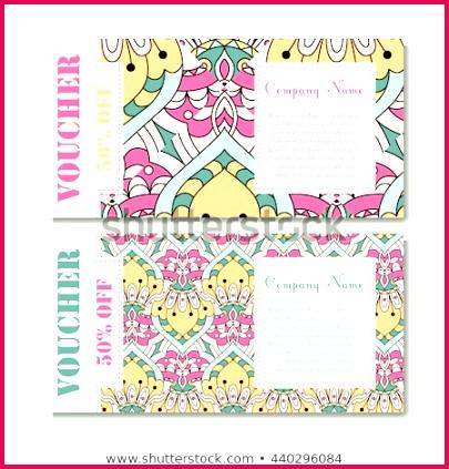 t voucher template mandala design 450w