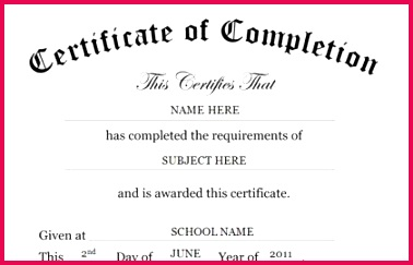 certificate of pletion template word and jntuh od apply line 2018 procedure original degree application free of certificate of pletion template word 420x270