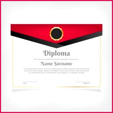 vector certificate template awards diploma
