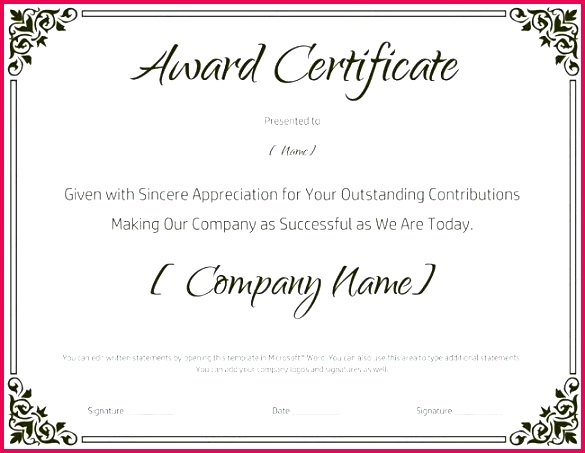excellence award certificate template word new awesome best work of excellen