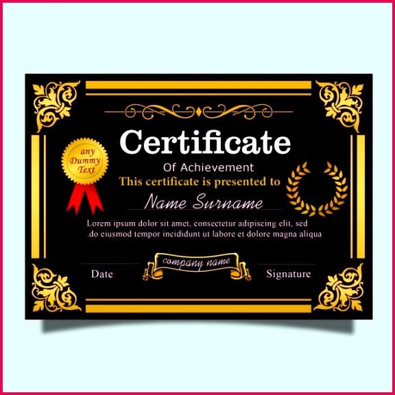 pngtree elegance dark purple vintage certificate template with gold corner and border image