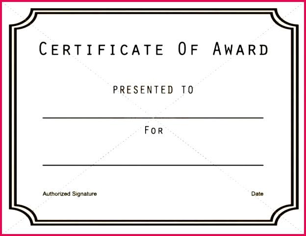 free customizable award certificates printable certificate templates