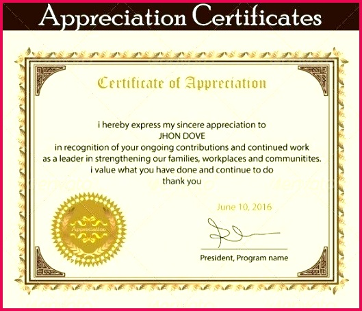 recognition certificate template plaque of appreciation wordings best employee anniversary
