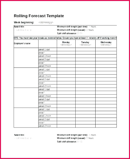 monthly rota template employee of the month certificate word superb staff free