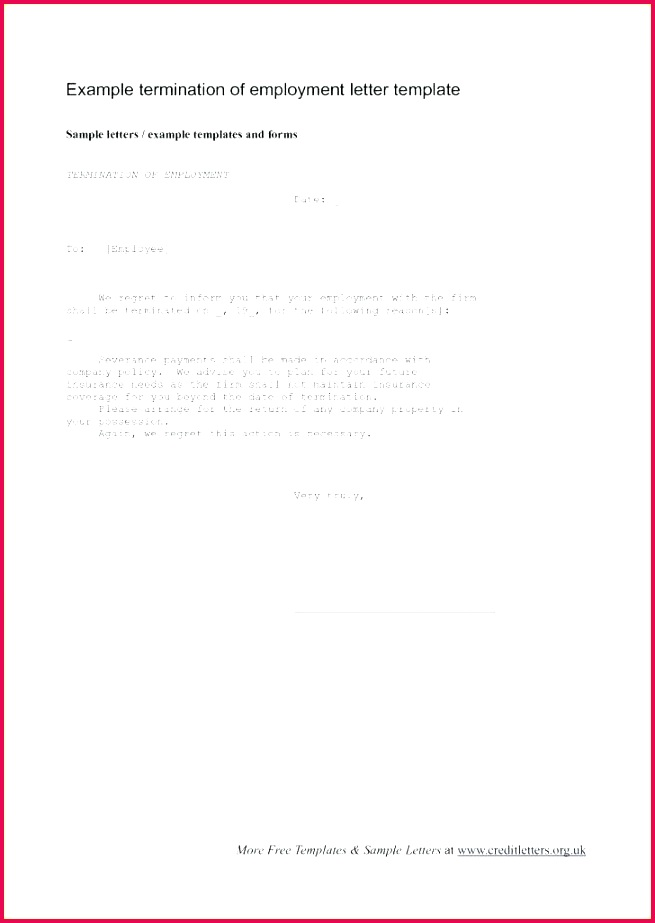 separation letter template employee termination er lovely agreement employment voluntary canada