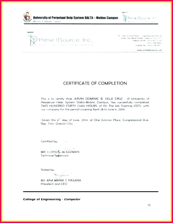 certificate of pletion template certificate of pletion template co condo certificate of pletion template