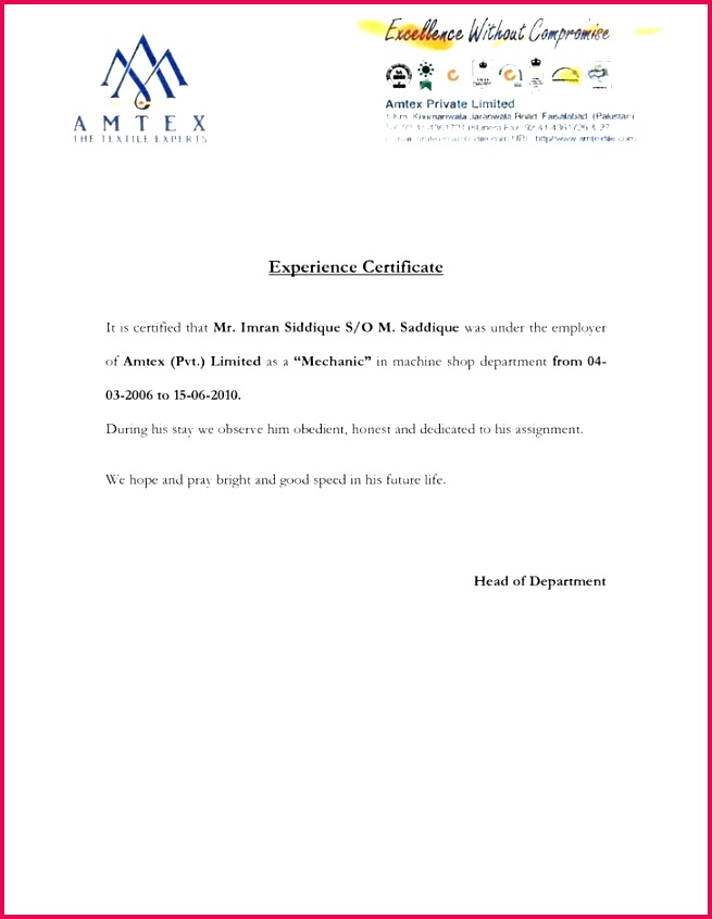 service certificate letter format stunning request sample of photo